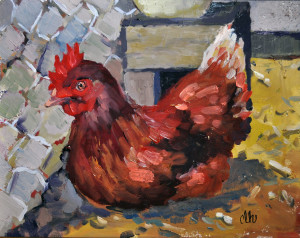 CareyLeeHudson_Artwork_ChickenCage