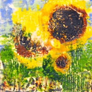 CareyLeeHudson_Artwork_SunflowerEncaustic